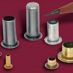 Examples of typical rolled eyelets